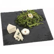 planche ardoise cuisine assiette ardoise carrée vaisselle cuisine de la table gifi