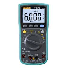 zotek vc17b auto manual ranging lcd display multimeter with