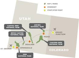 Utah National Park Map by Hiking Utah U0027s National Parks Off The Beaten Path