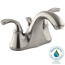 Centerset Faucet Definition by Pfister Serrano 4 In Centerset Single Handle Bathroom Faucet In