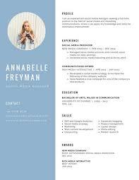 photo resume templates canva