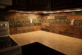 slate tile kitchen backsplash kitchen admirable slate backsplash for kitchen tile design ideas