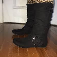 sears womens boots size 12 50 sears shoes womens suze 6 black boots from a s closet on