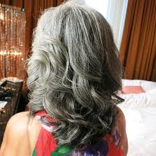 how to get gorgeous salt and pepper hair 60 gorgeous gray hair styles grey hairstyle long curly and