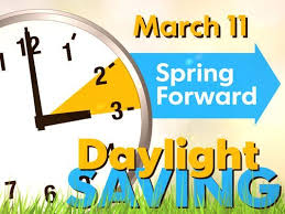 forward when is daylight savings time 2018