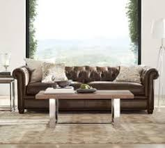 Pottery Barn Leather Couches Mesmerizing Pottery Barn Living Rooms For Home U2013 Rustic Pottery