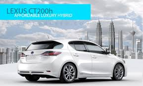 new lexus suv malaysia price lexus ct200h to be launched next week u2013 rm168k onwards