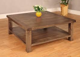 coffee table elegant rustic square coffee table design ideas