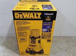 dewalt 20v area light new dewalt dcl070 20v max corded cordless bluetooth led large area