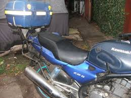 Diy Motorcycle Seat Upholstery Recovering A Motorcycle Seat 6 Steps With Pictures
