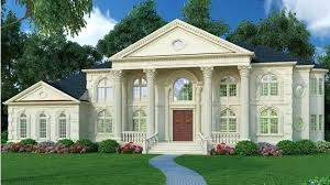 house plans with portico neo classical houses neoclassical house plans magnificent portico