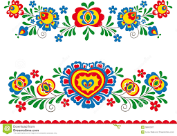 folk ornaments stock vector image of eastern folk slavic 58842971