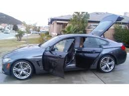 bmw cars for sale by owner 2015 bmw 4 series gran coupe car sale in sun city ca 92586
