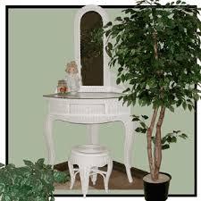 Vanity Mirror And Bench Set Corner Wicker Vanity Mirror And Bench Set Wicker Corner Desk