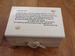 personalised jewelry box shabby personalised chic jewellery box of the groom gift