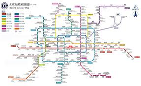 Shanghai Metro Map Beijing Metro Map Travel Map Vacations Travelsfinders Com
