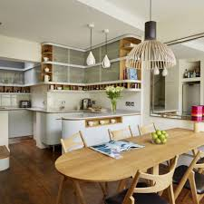 kitchen open to dining room open plan kitchen design ideas ideal home