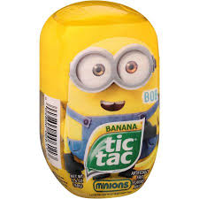 minion tic tacs where to buy tic tac minions banana mints 3 4 oz walmart