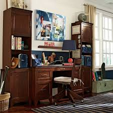 desks with storage hton desk storage tower set pbteen
