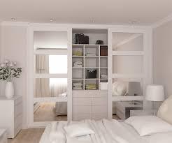 Sliding Closet Doors White Bedrooms White Gloss Sliding Wardrobe Doors Built In Wardrobe