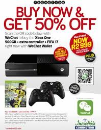 xbox one black friday price wechat u0027s green friday sale console bundles from r1999 expired
