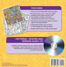 amazon com patterns shapes u0026 designs coloring book with