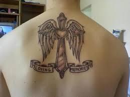 cross wings tattoos for tattoos tattoos