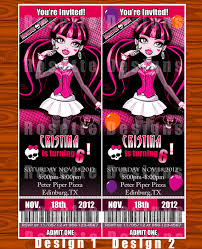 20 monster high invitations templates u2013 unitedarmy info