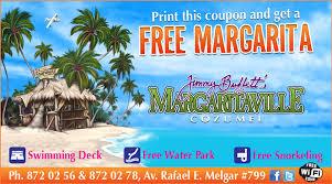 travel coupons images Margaritaville free margarita voucher cozumel mexico travel jpg