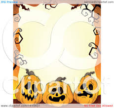 halloween trees pumpkins background clipart of a halloween background border frame of jackolantern