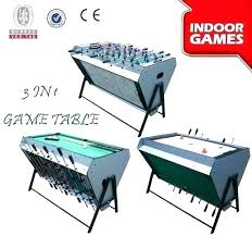3 in one foosball table foosball air hockey pool tables air hockey table full image for pool