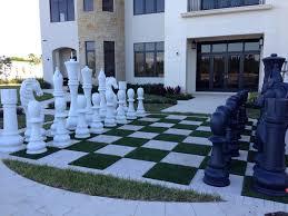 beautiful chess sets giant fiberglass resin chess set with 72 king