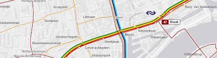 rotterdam netherlands metro map maps