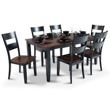 Cherry Dining Room Tables Blake Dining 7 Piece Set Bob U0027s Discount Furniture