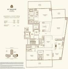 hotels floor plans st regis bal harbour u2013 floor plans st regis bal harbour
