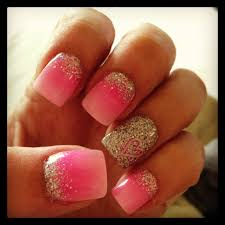 15 pink nail arts you must have black nail polish black nails