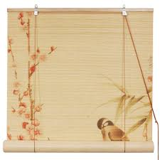 Roll Up Window Shades Home Depot by Tips Classic Matchstick Blinds For Awesome Window U2014 Saintsstudio Com
