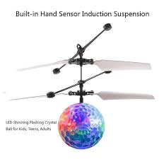 amazon com mini flying rc ball szjjx crystal hand suspension