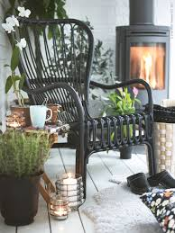 Wicker Armchair Outdoor Storsele Stol I Svart Rotting Vardagsrum Pinterest Rattan