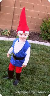 Lawn Gnome Halloween Costume Cheap Chickadee U0026 Gnome Halloween Costume