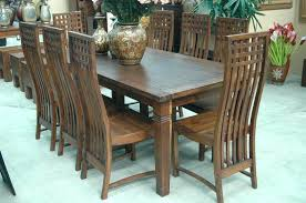 Round Teak Table And Chairs Incredible Teak Dining Furniture Room The Modern Table And Chairs