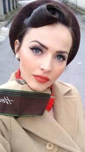 hair and makeup vintage 20 ideas de maquillaje para morenas 1940s wedding and makeup