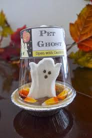 cute diy pet ghost peep jar lantern diy halloween ghost halloween