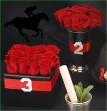 Cube Vase Centerpieces by Red Rose Centerpiece In Julep Cup Vase Red Rose Centerpiece In