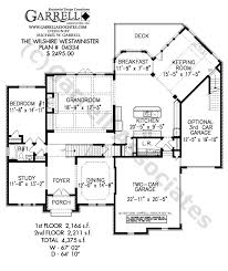 wilshire westminster house plan 04334 1st floor plan french