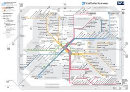 Wisconsin City Map by Hannover Tram And Metro Map