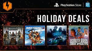 flash sale now holiday deals u2013 playstation blog