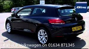 2009 volkswagen scirocco tsi 1 4l deep black metallic gl58fkg for