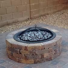 Propane Fire Pits With Glass Rocks by Diy Propane Fire Pit U2014 Stuffandymakes Com