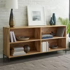 west elm white bookcase industrial modular bookcase west elm